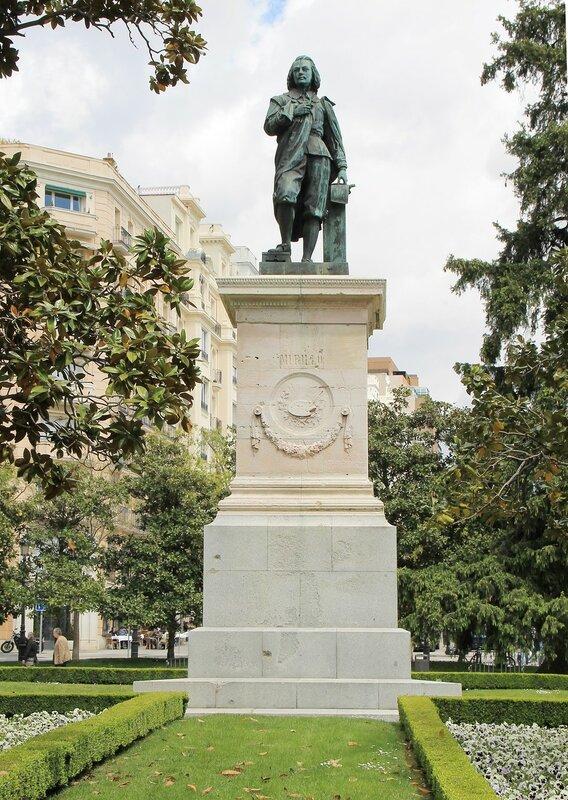 Мадрид. Памятник Бартоломе Эстебану Мурильо