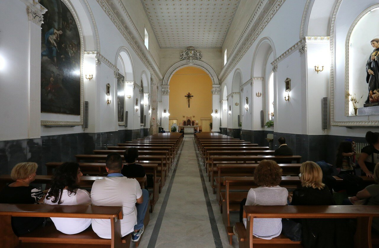 Jela. Church and monastery of Saint Augustine (Convento di Sant'agostino)