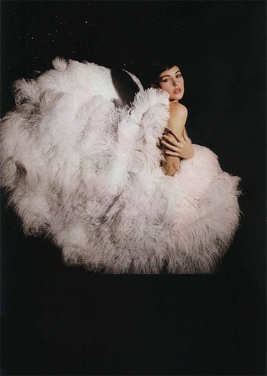 Моника Беллуччи для ELLE France, январь 2004 года.