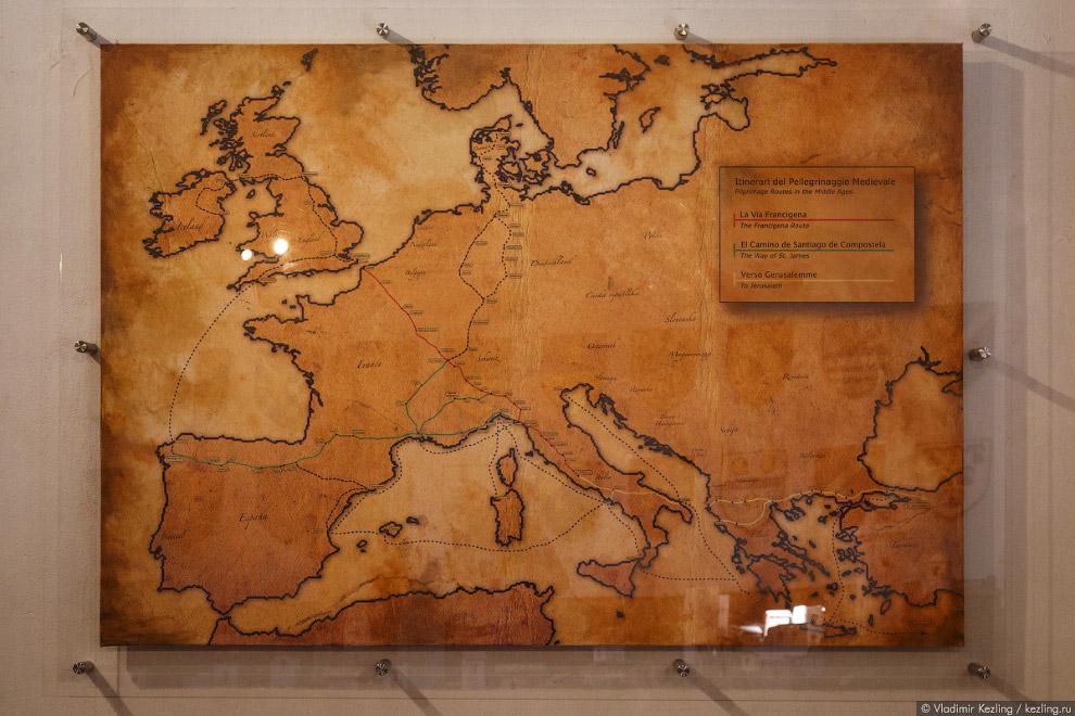26. Своего рассвета Сан-Джиминьяно достиг в середине XII века. В это время местные купцы успешн