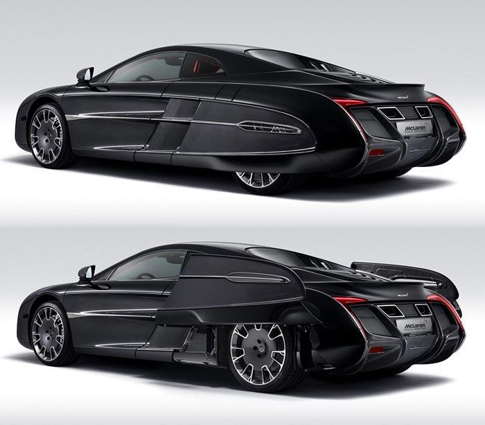 3. McLaren X-1 Concept Этот автомобиль, как все остальные в этом списке, не похож ни на что. На разр