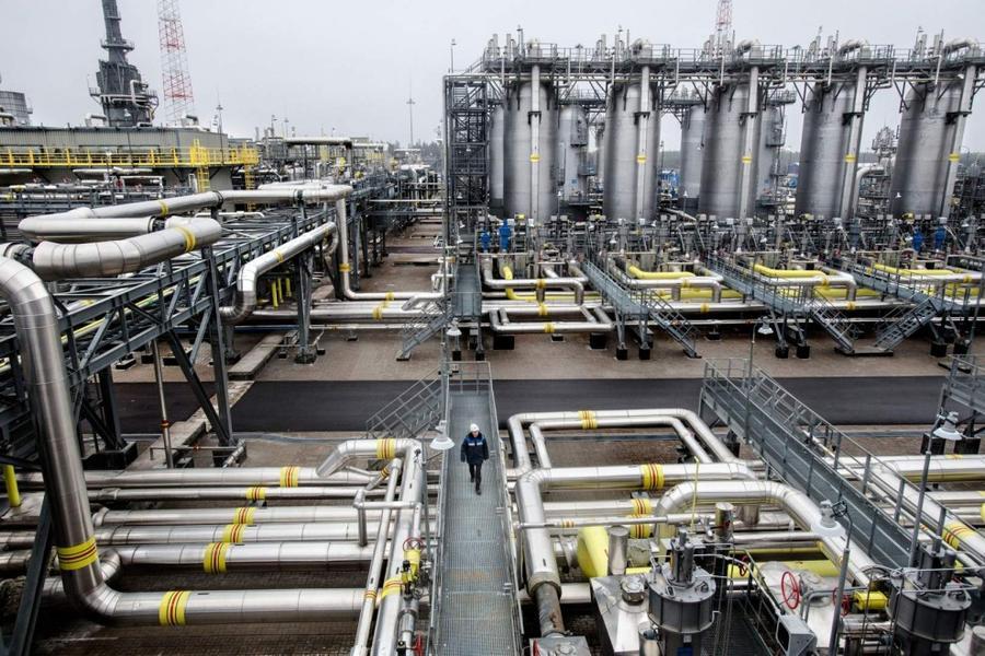 8. Компрессорная станция «Портовая», обеспечивающая транспортировку газа в Европу через Балтийское м