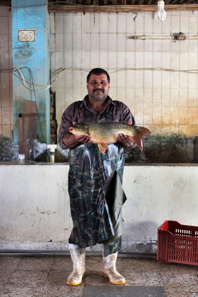 36. 63-летний Саад Мослем, рыбак. На вопрос