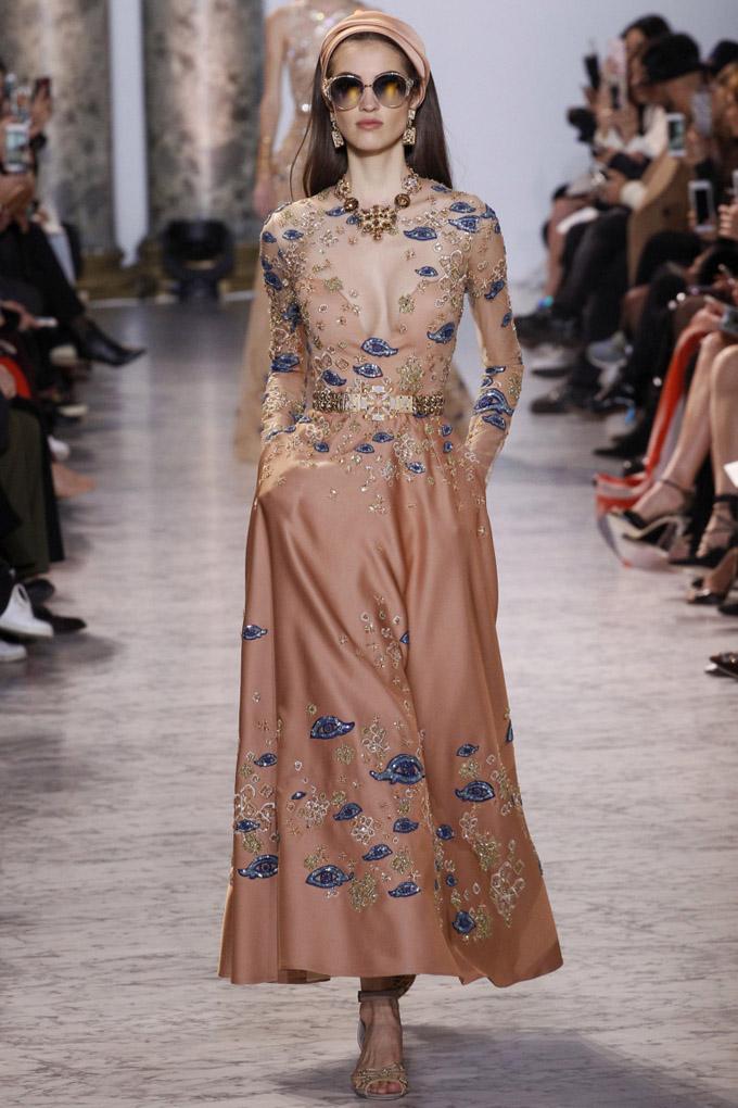 Неделя высокой моды в Париже: Elie Saab осень 2017