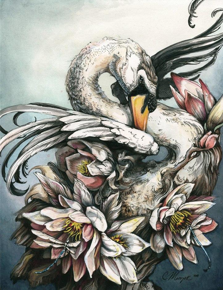 Симфония природы: рисунки Кристины Мрозик