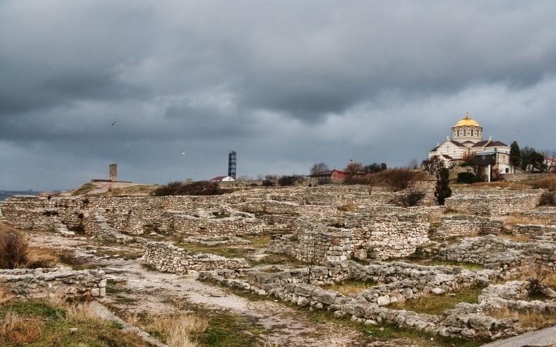 Херсонес Таврический Так назывался город более двух с половиной тысяч лет назад, основанный греками.
