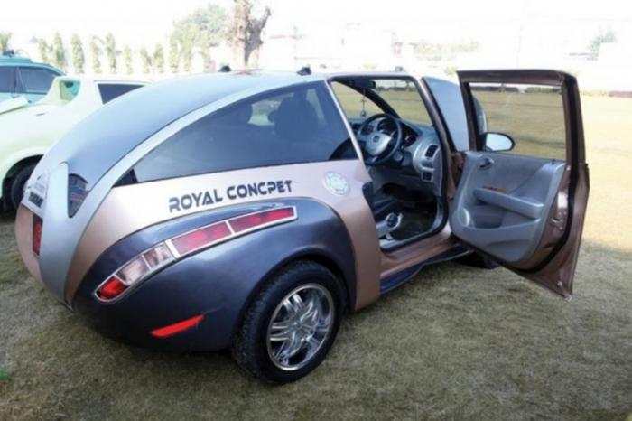 Пародия на Bugatti Veyron из Индии