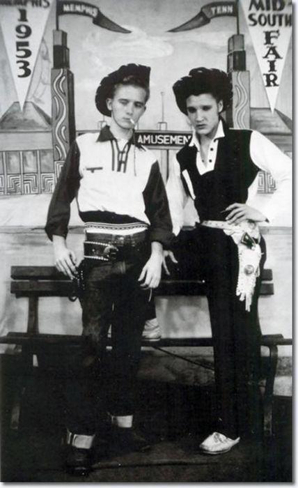 Элвис Пресли и Том Джонс