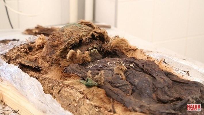 Ученые проводят реконструкцию мумии 13 века, найденной наЯмале