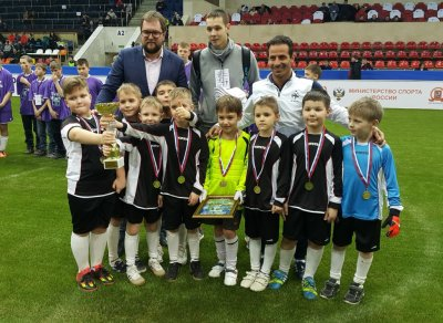 В российской столице сборнаяРФ вновь выиграла «Кубок Легенд»