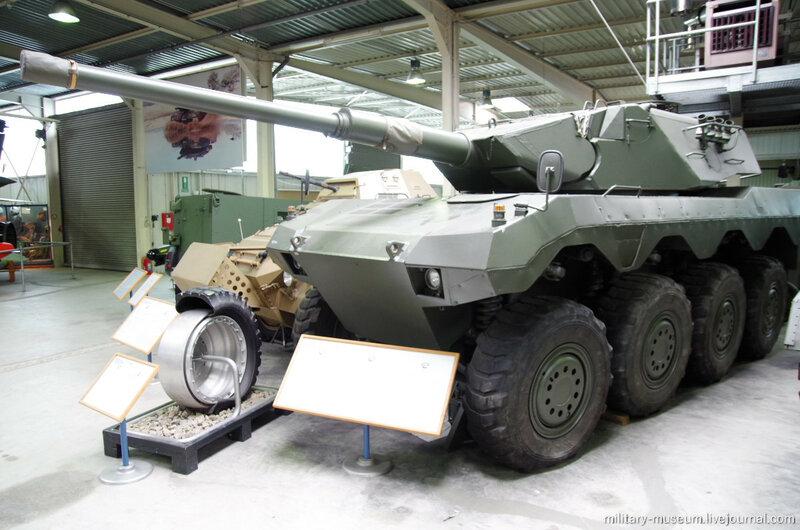 Бронетехника в Военном музее Кобленца