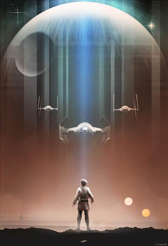 Pop Culture Posters - Les magnifiques illustrations d'Andy Fairhurst