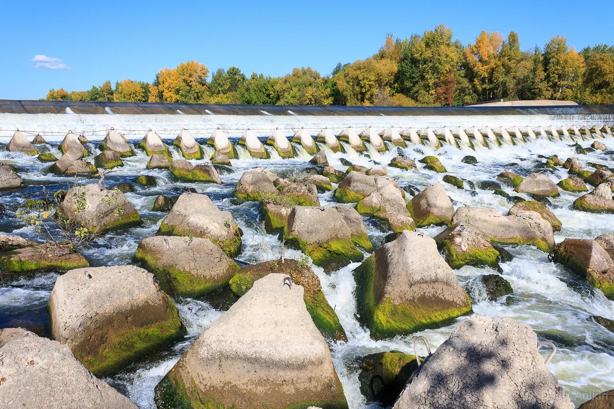 Переливная плотина на реке Большой Иргиз 5