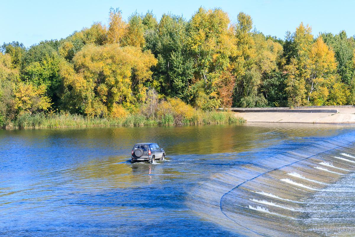 Переливная плотина на реке Большой Иргиз 8