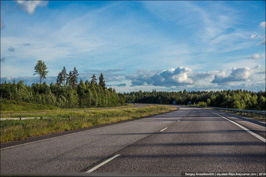 Путешествие по летней Финляндии