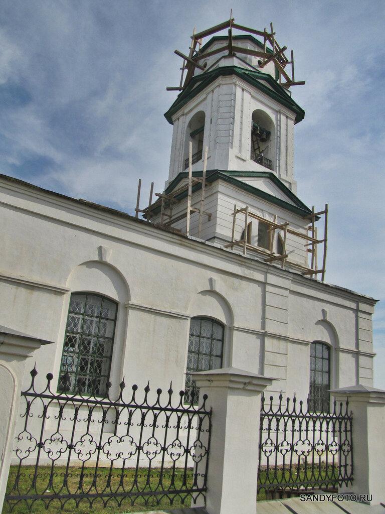 Собор Святой Троицы в преддверии  установки нового купола