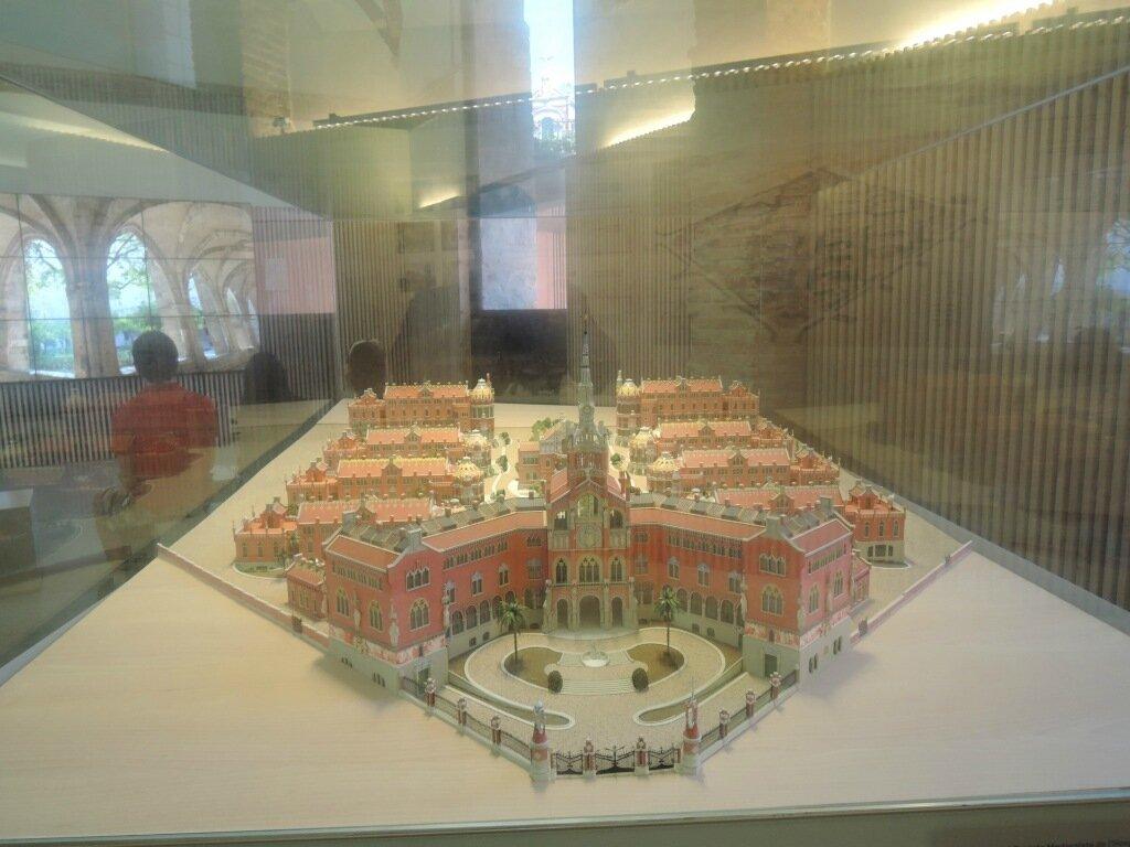 Шедевры барселонского модерна: госпиталь Sant Pau