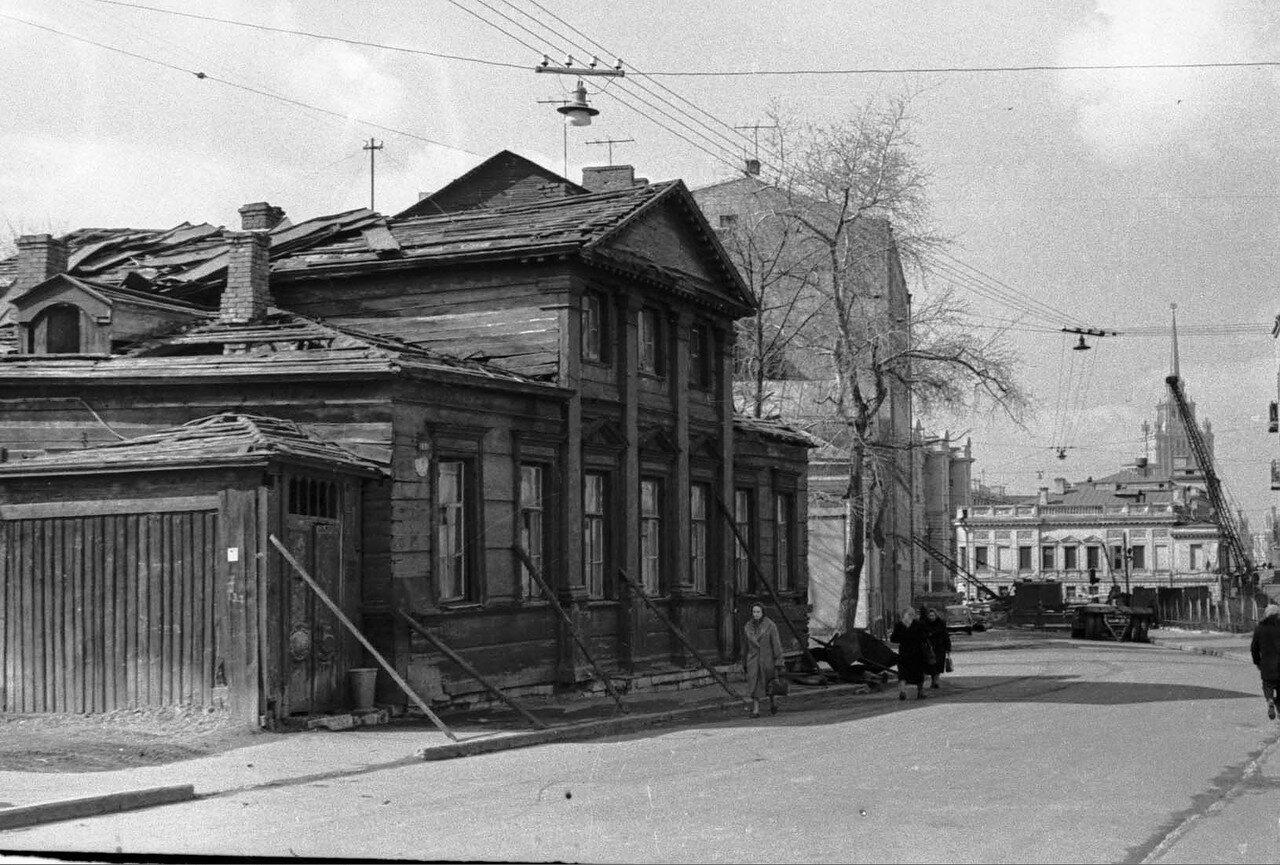 1962. Кречетниковский переулок