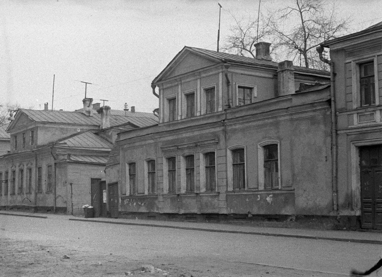1964. Трубниковский переулок