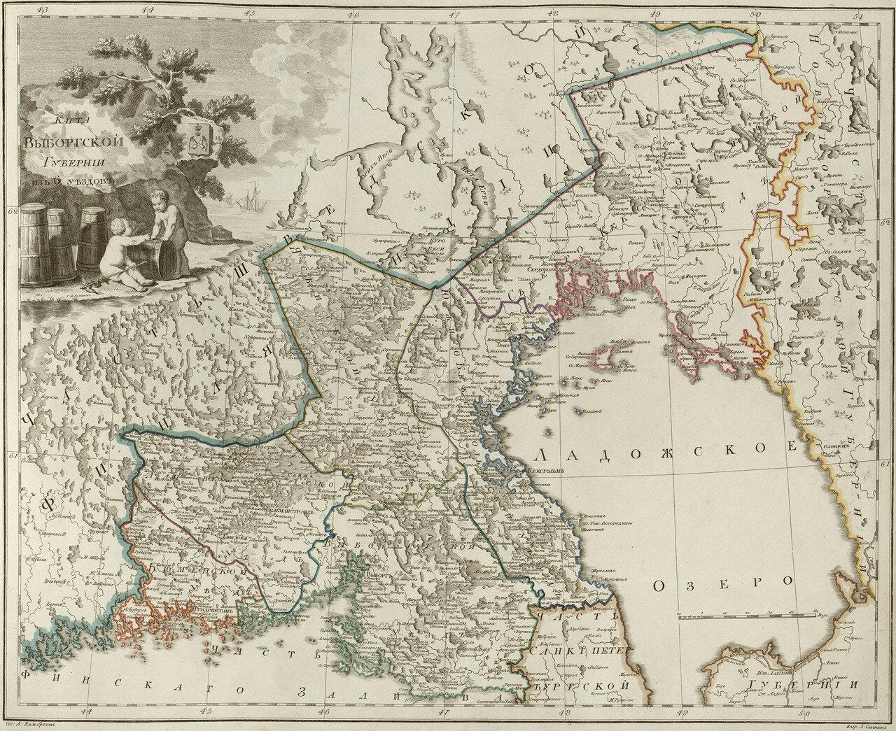 02. Карта Выборгской губернии