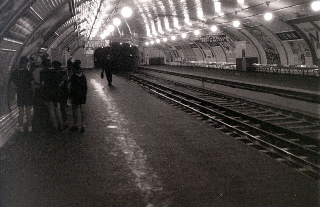 25 июля. Станция метро Йена