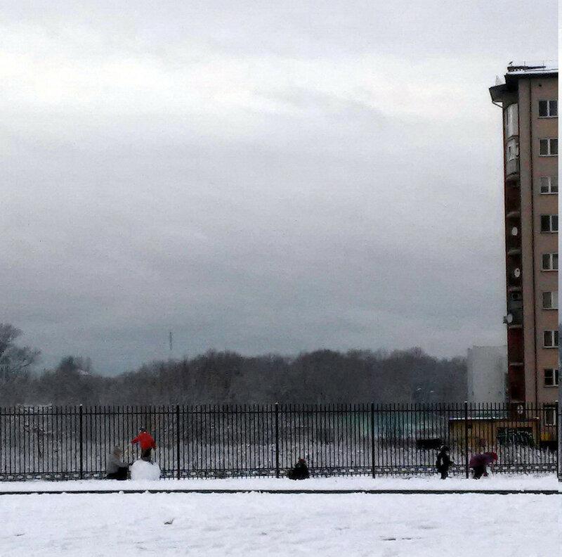 Калининград. Декабрь. Начало зимы.