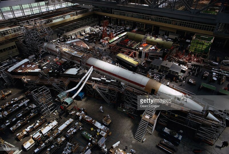 1968 concorde-under-construction-at-the-british-aircraft. Dean Conger.jpg