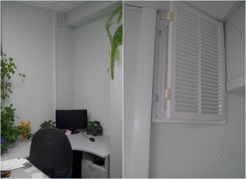 Вентиляция в офисе