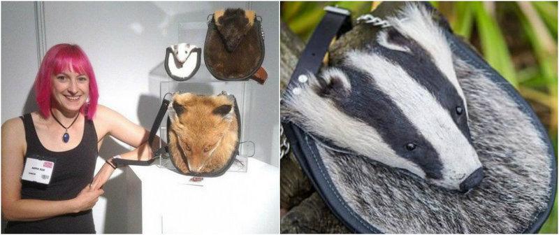 Веган-таксидермист делает сумки из мертвых животных