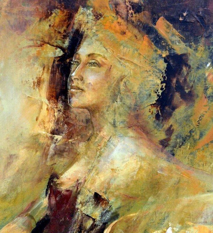 Бразильская художница Sandra Regina de Paula Freitas