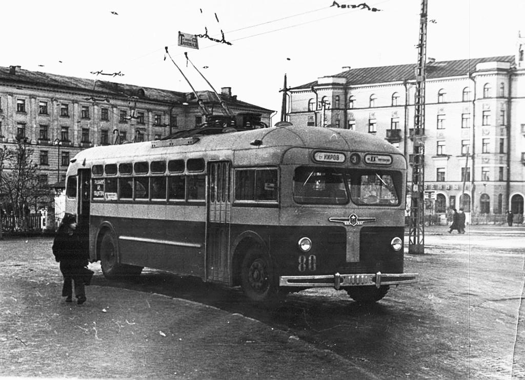 Троллейбусы в Кирове: Байки и истории