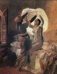 По установлению Аллаха раз в год меняется рубаха (1850-1852) (Милан, Галерея нового искусства).jpg