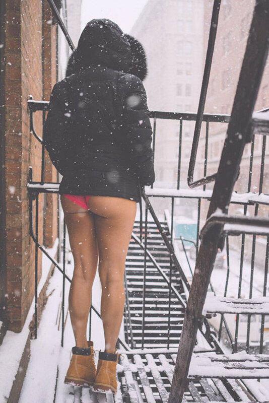 Главное, чтобы ноги были в тепле