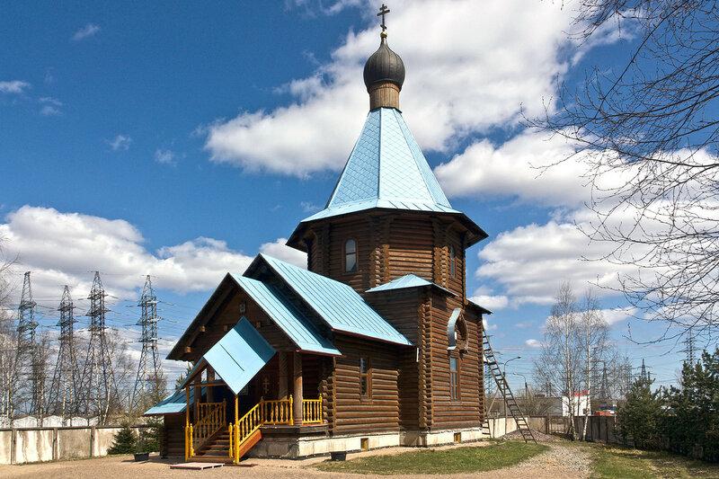 Храм Иверской иконы Божией Матери. Санкт Петербург