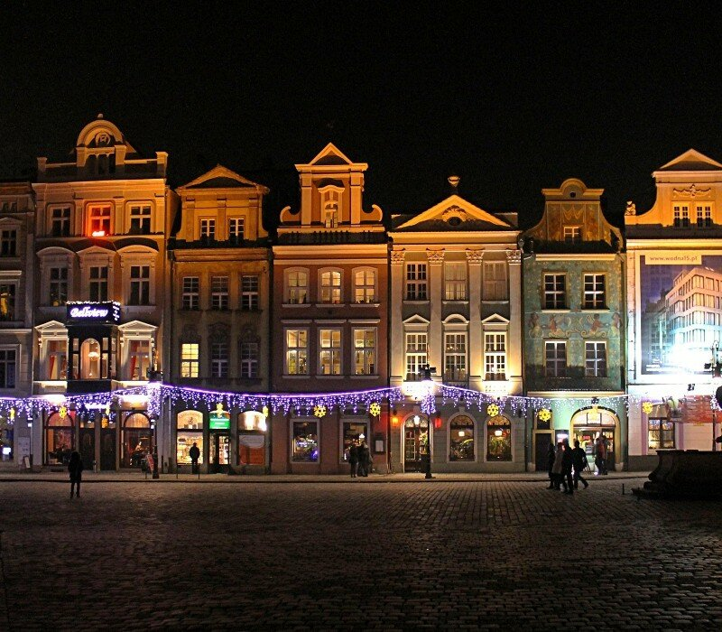 Night Poznan