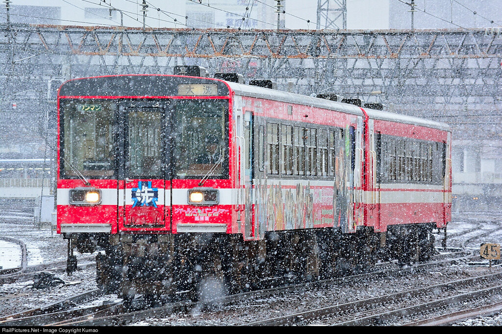 "Kashima Rinkai Tetsudo connects Mito and Kashima, Japan. This DMU is Series 6000. No.6011 is ""Girls und Panzer"" lively. Nov 24, 2016."