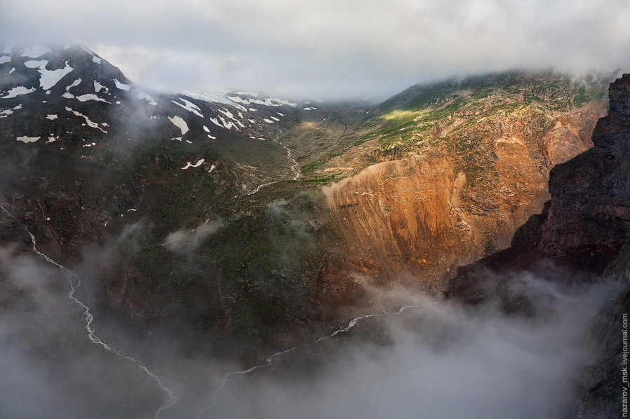 Долина реки Азау: