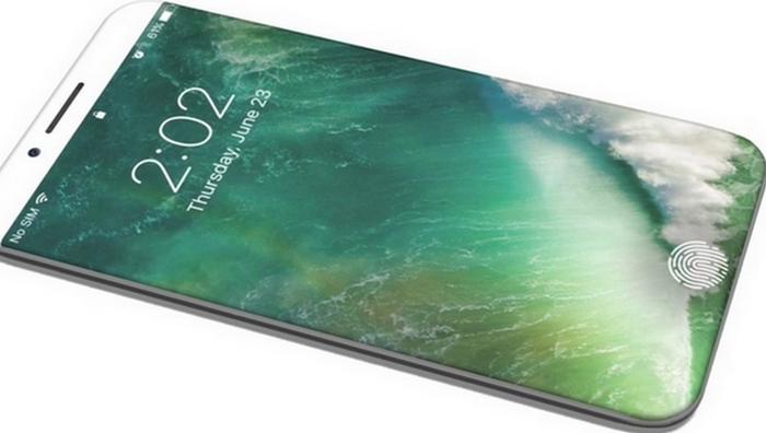 Смартфон Apple iPhone8. Выпуск этой модели производители хотят приурочить к 10-летию выхода на рынок
