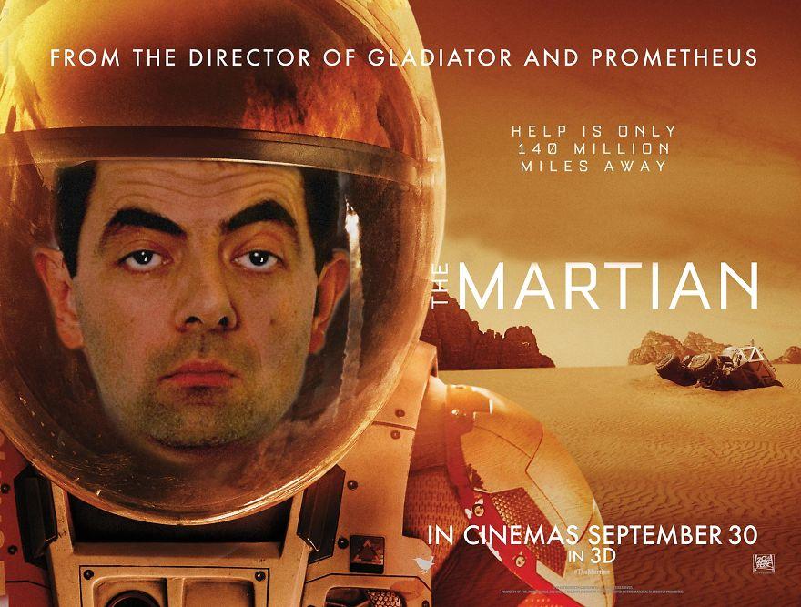 «Марсианин». На Марсе мог выжить только мистер Бин.