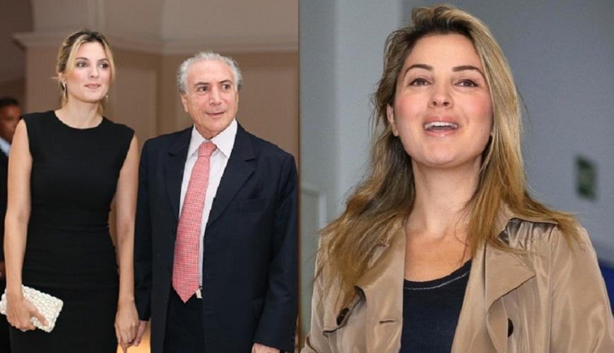 Марсела Тедески, жена Мишела Темера, Бразилия Мишел Темер старше своей леди на 42 года, но в Бразили