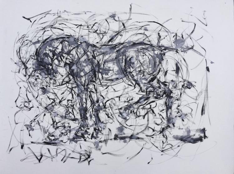 Что касается картин и создания эскизов, Тернер любит работать быстро короткими отрезками времени, св