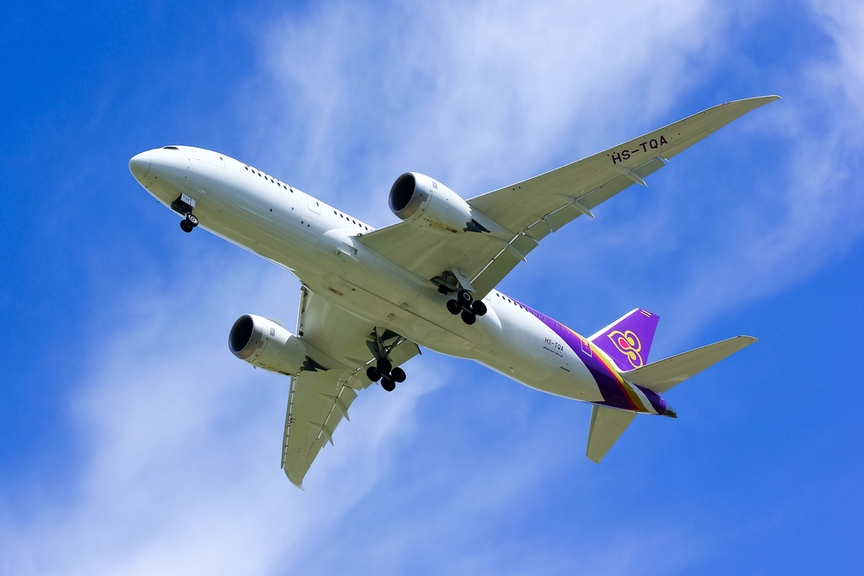 Авиакомпании Thai Airways возобновила рейсы из столицы вБангкок