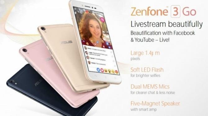 ASUS готовит бюджетный ZenFone 3 Go