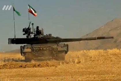 Иран презентовал танк собственной разработки, сопоставимый с русским Т-90