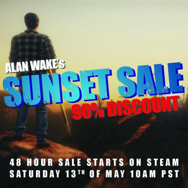 Alan Wake пропадет изSteam: разработчик устроил акцию распродажи соскидкой 90%