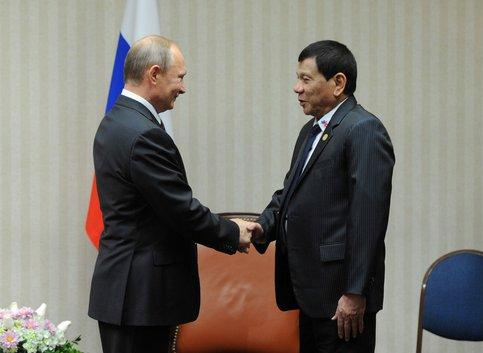 Президент Филиппин из столицы объявил военное положение впровинции Миндана