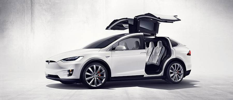 Tesla Model X Car (8 pics)