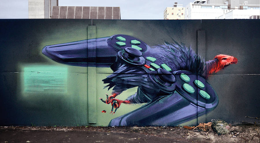 New Gorgeous Murals by Wes 21