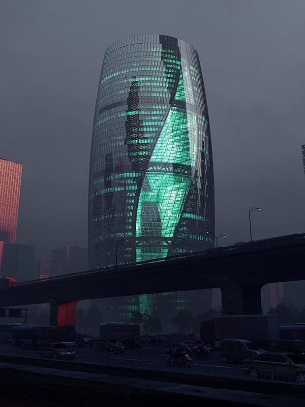 Architect : Zaha Hadid Architects Design : Zaha Hadid and Patrik Schumacher Project Director : Satos