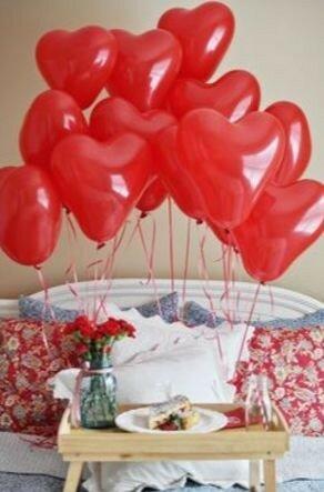 Романтические спальни: как украсить на День святого Валентина